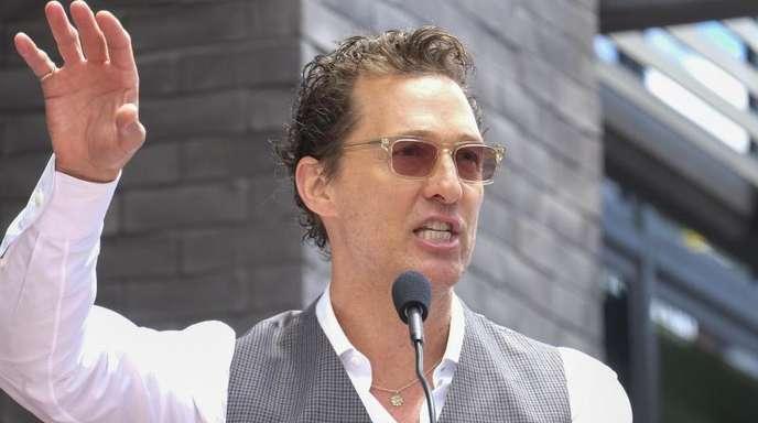 Schauspieler Matthew McConaughey hat jetzt einen Instagram-Account.