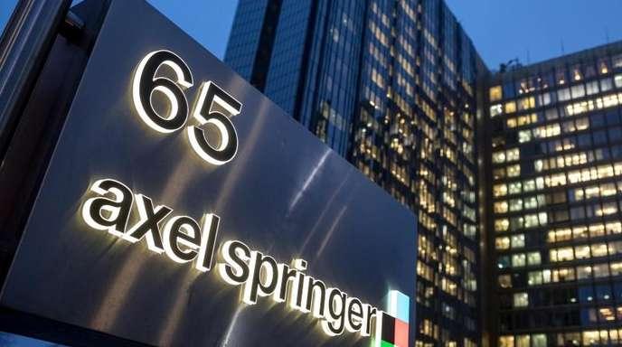 Die Zentrale von Axel Springer in Berlin.