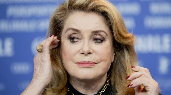 Catherine Deneuve in diesem Jahr auf der Berlinale.