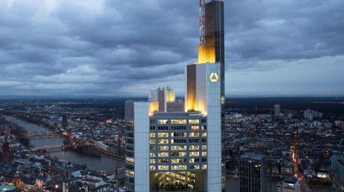 Die Zentrale der Commerzbank in Frankfurt am Main.
