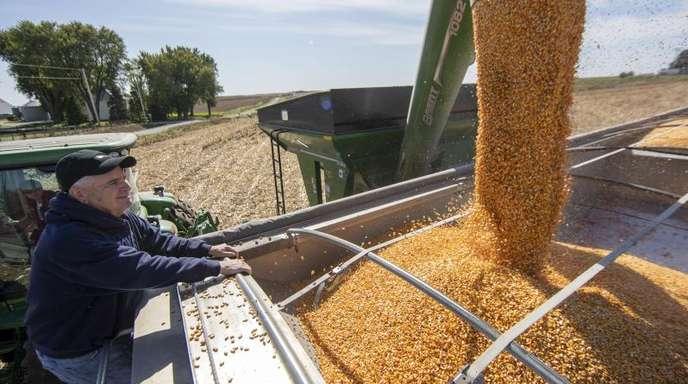 Viele US-amerikanische Farmer hoffen auf ein baldiges Ende des Handelskrieges mit China.