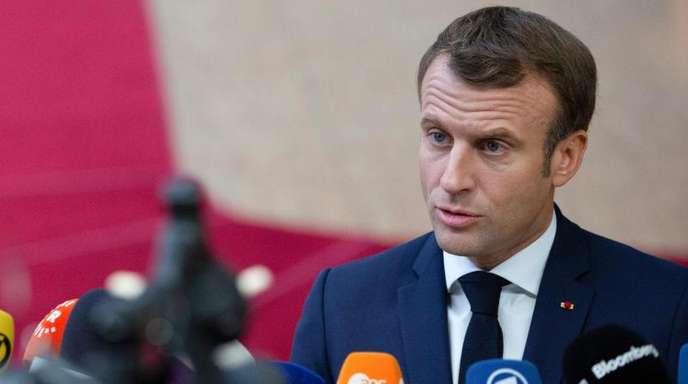 Frankreichs Präsident Emmanuel Macron nennt die Nato «hirntot».