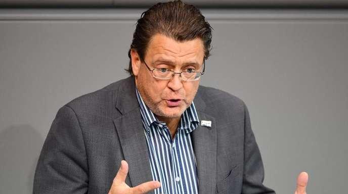 Stephan Brandner (AfD) während einer Sitzung des Bundestages.