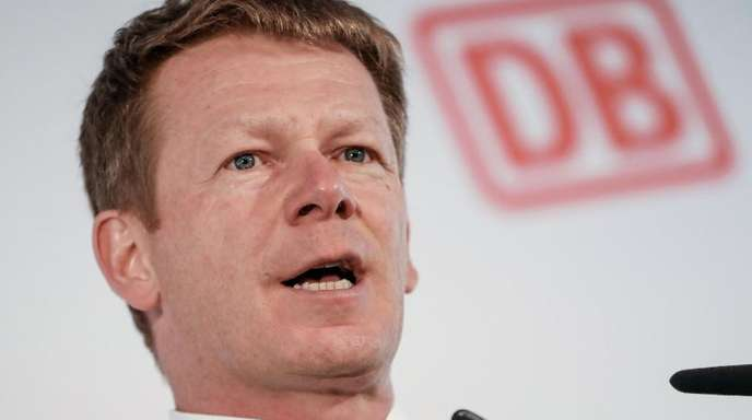 Richard Lutz, Vorstandsvorsitzender der Deutschen Bahn AG.