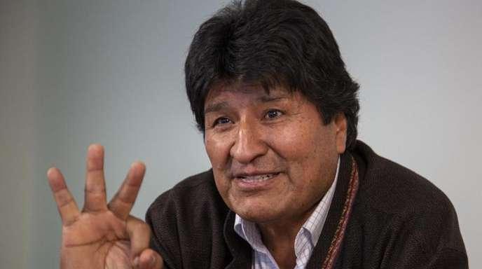 Evo Morales, Ex-Präsident von Bolivien, im dpa-Interview.