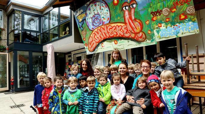 »Schneckenhauskinder haben Rückgrat« – Das sagen die Eltern und Betreuer der Kindertagestätte Schneckenhaus. Am morgigen Donnerstag, 1. Mai, feiern alle zusammen ihr langjähriges Domizil.
