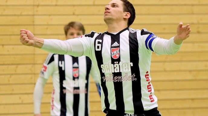 Michael Haas vom FBC Offenburg wurde in der Nacht zu Sonntag Vater von Lukas Maximilian.
