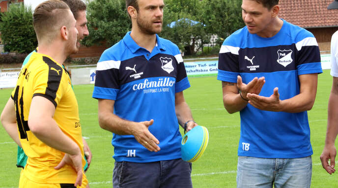 Das neue Trainerduo des Landesligisten SC Durbachtal: Jan Haist und Thomas Brombach (r.).