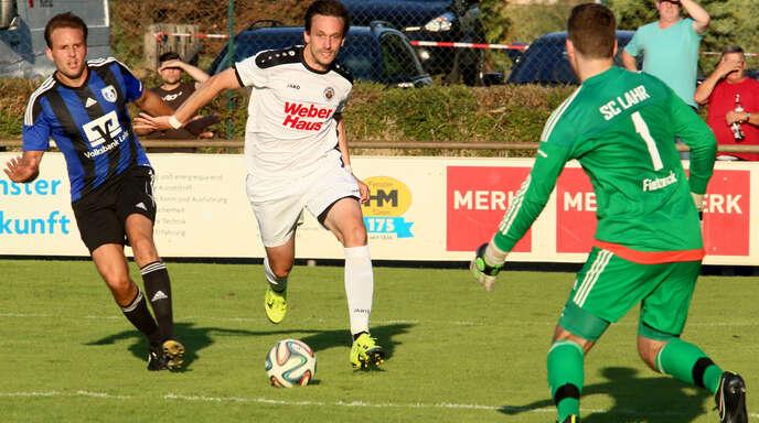 Marc Rubio, Toptorjäger des SV Linx, hofft nach längerer Verletzungspause am Samstag gegen Bühlertal auf sein Comeback.