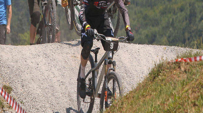 Der Schweizer Simon Waldburger (vorne) hatte die Konkurrenz in Ohlsbach im Griff.