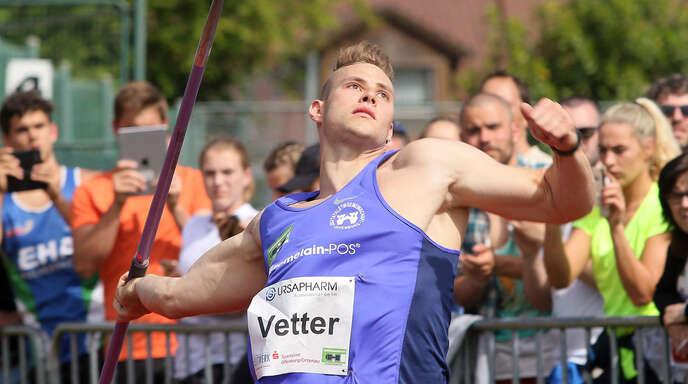 Johannes Vetter will weiter an seiner Stabilität arbeiten.