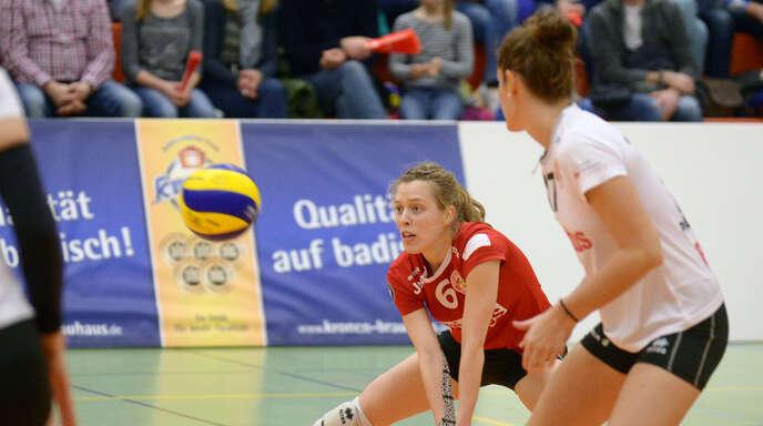 Franziska Fried gab in München ihr Comeback im VCO-Trikot.