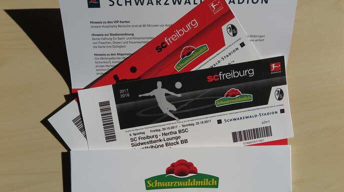 Sc Freiburg Karten.Lokalsport Verlosung Zur Bundesliga Zwei Vip Tickets Für Sc Freiburg