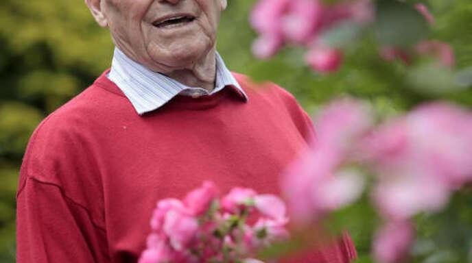 Zuletzt fühlte sich Walter Pfeiffer vor allem in seinem Garten wohl .