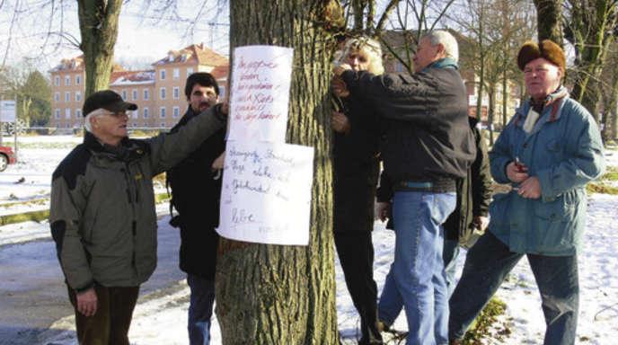 Achern Oberkirch Plakate An Illenau Baumen Angebracht Nachrichten