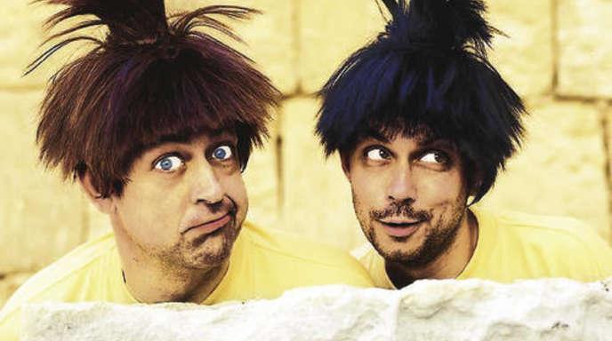 Hendrik Nachtsheim (r.) und Gerd Knebel sind das »Badesalz« der deutschen Comedy-Szene..