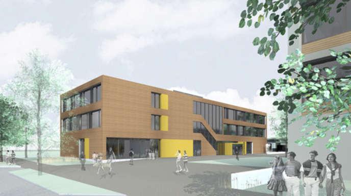 Foto: FES - Der Neubau der Grundschule wird der erste Bauabschnitt bei der Planung »Campus FES« sein.