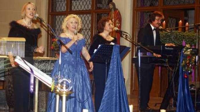 Foto: Wolfgang Schätzle - Die Schwarzwaldfamilie Seitz stimmte ihre Zuhörer in der Kirche Heiligenzell auf die Festtage ein.