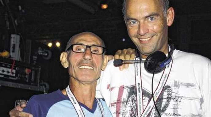 Freuen sich auf das Drops-Revival: DJ Mino Barbanera (l.) und Alexander Fischer.