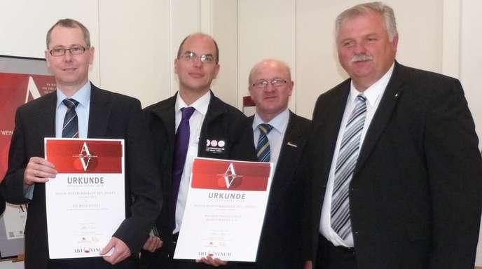 Foto: Weinverband - Auszeichnung der Wein-Guides auf der ars vinum.