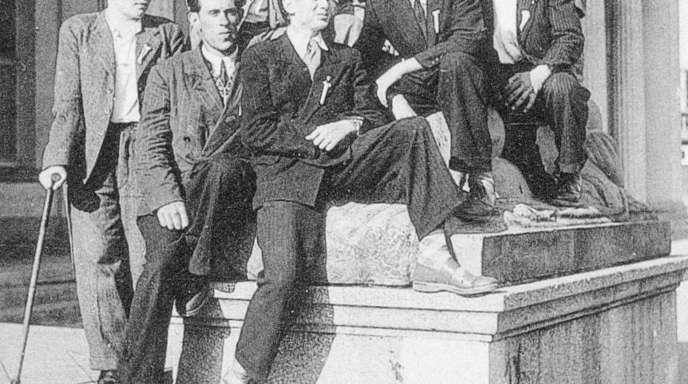Hans Spengler - Vor 100 Jahren wurden der Posaunenchor Meißenheim (Foto von 1954) gegründet.