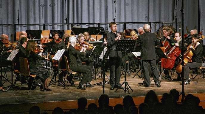 Archivfoto Ulrich Marx - Konzert der Bundespreisträger 2010 in der Offenburger Waldorfschule.