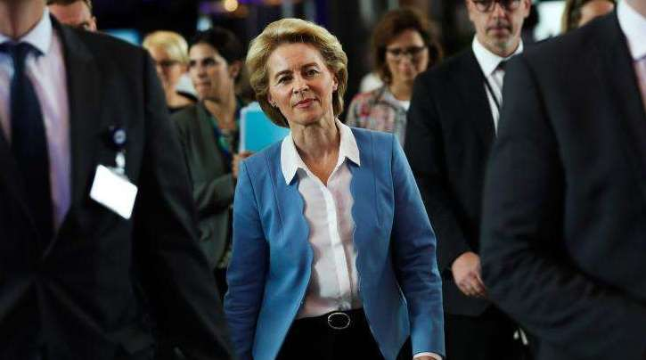 Ursula von der Leyen wird neue EU-Kommissionspräsidentin.