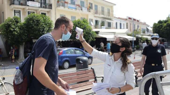In Griechenland hat die Zahl der Corona-Infizierten einen neuen Höchststand erreicht. (Symbolbild)