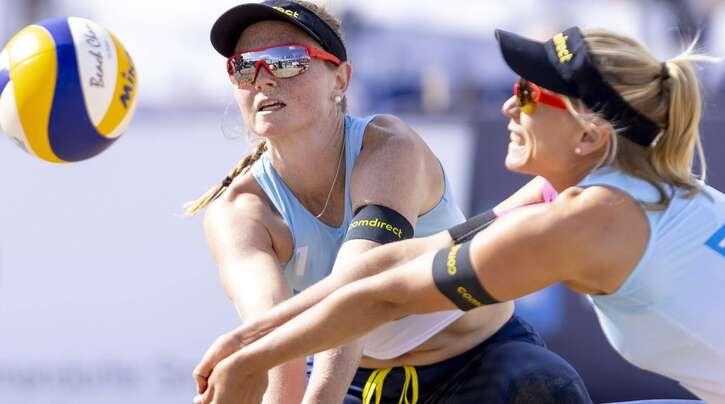 Julia Sude (li.) und Karla Borger wollen in Tokio um eine Medaille kämpfen.