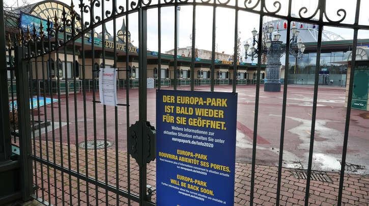 Der Europa-Park könnte schon am Freitag wieder öffnen.