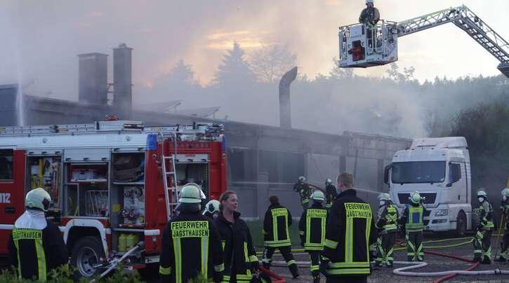 Bei dem Brand entstand ein hoher Schaden.