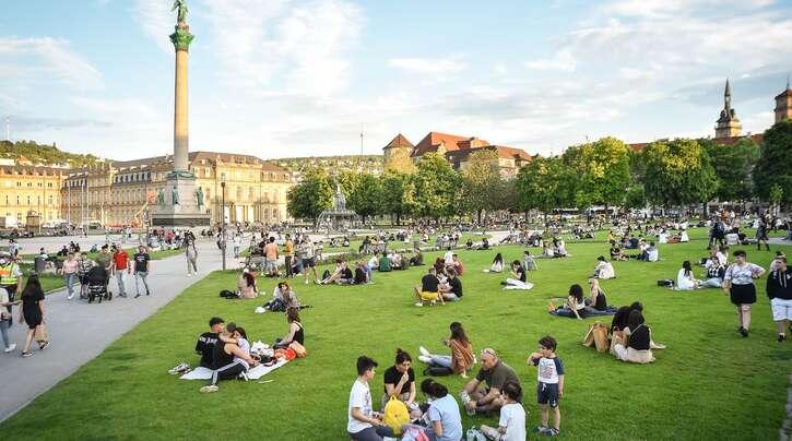 Stuttgart wird in den kommenden Jahren weiter wachsen und zu den jüngsten Städten im Land zählen.