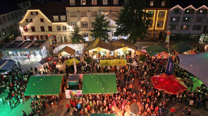 Es wäre zu schön gewesen, aber auch 2021 muss das Weinfest in Offenburg Corona-bedingt ausfallen!