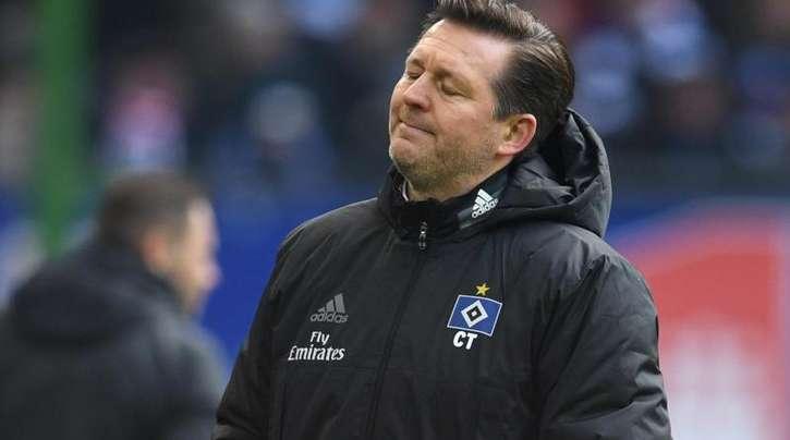 Will mit dem HSV das Wunder Klassenerhalt doch noch schaffen: Trainer Christian Titz.