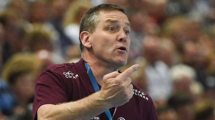 Eröffnet mit Kiel die K.o.-Phase in der Handball-Königsklasse: THW-Trainer Alfred Gislason.