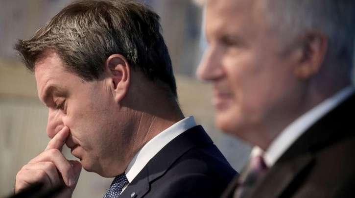 Bayerns Ministerpräsident Markus Söder (l.) will Horst Seehofer auch als CSU-Chef beerben.
