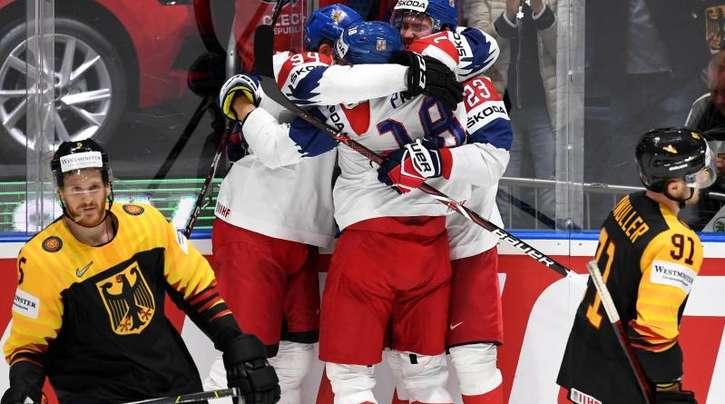 Am Ende gewannen die Tschechen 5:1 gegen Deutschland das WM-Viertelfinale.