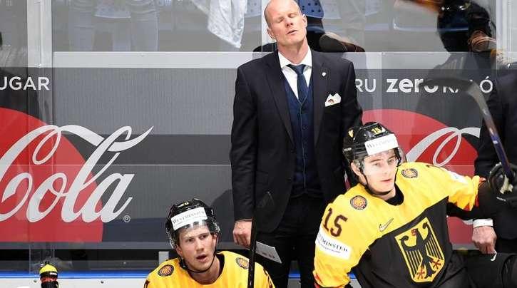 Bundestrainer Toni Söderholm war trotz der Niederlage im WM-Viertelfinale stolz auf seine Spieler.