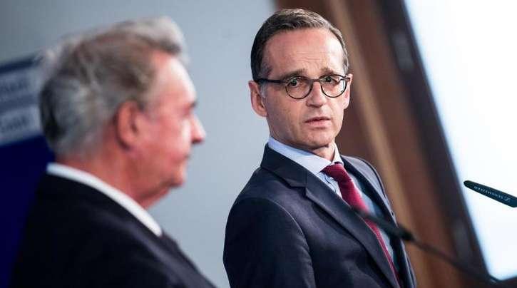 Bundesaußenminister Heiko Maas (r) und sein luxemburgischer Amtskollege Jean Asselborn wollen eine unabhängige Untersuchung der Vorfälle im Golf von Oman.